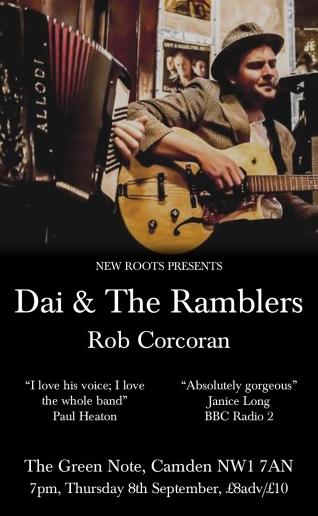 Dai & The Ramblers poster