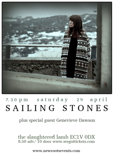 Sailing Stones 29 April portrait