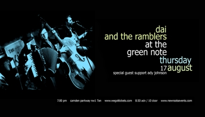 Dai & The Ramblers 17 Aug Banner 72